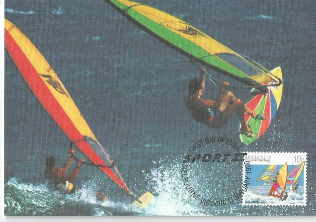 SAIL BOARDING AUS M CARD