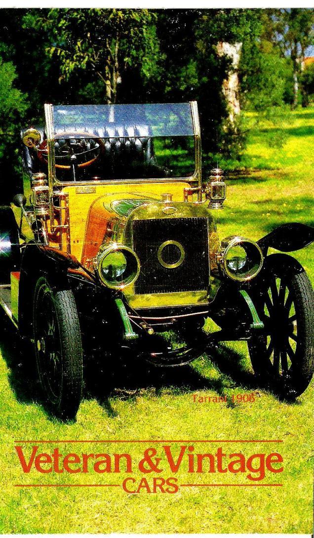 AUSTRALIA VINTAGE CARS PP