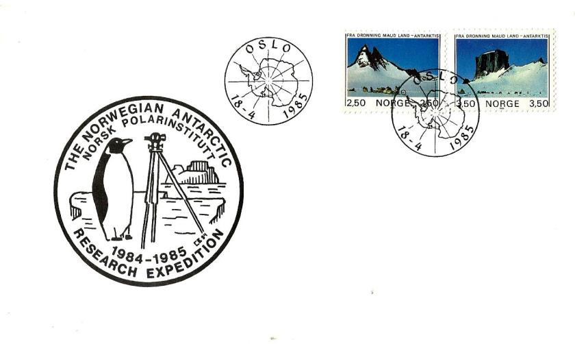 FDC ANTARCTICA NORWAY