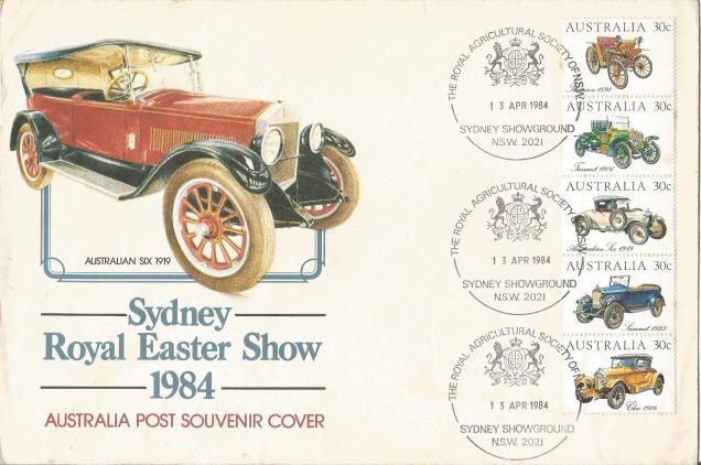 FDC AUSTRALIAN SIX CAR