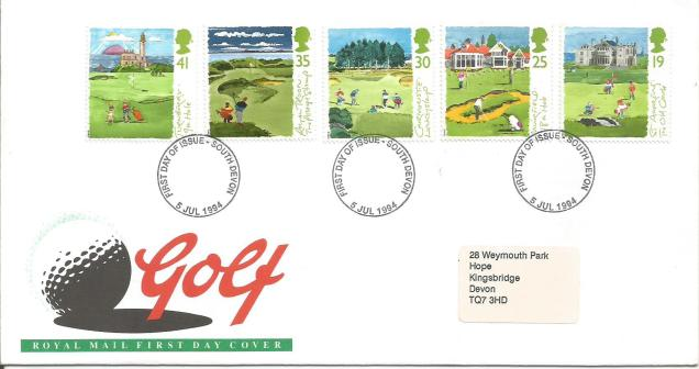 FDC GB GOLF COURSES SCOTLAND