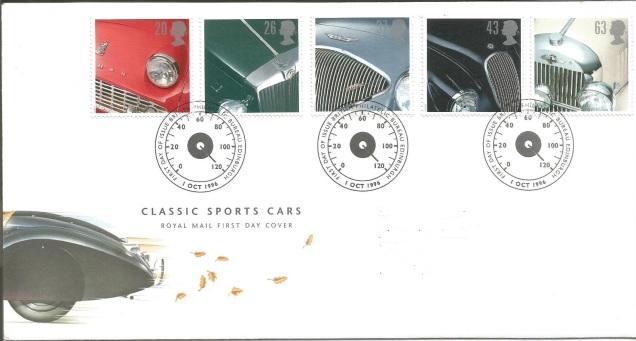 FDC GB SPORTS CAR