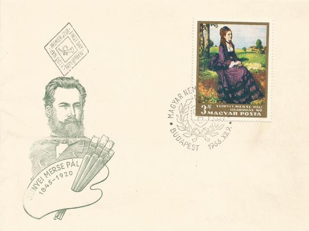 FDC HUNGARY PAINTING PAL1