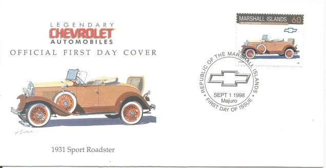 FDC MARSHALL IS SPORT ROADSTER