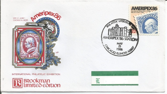 FDC USA AMERIPEX 86