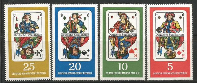 GERMAN PLAYING CARDS