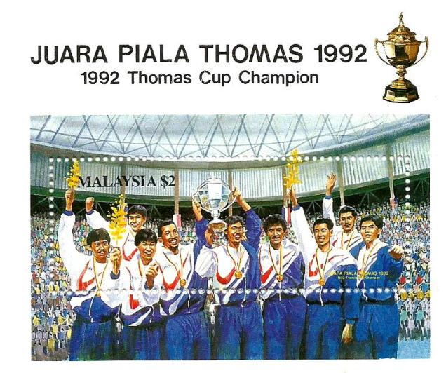 MS 1992 THOMAS CUP WINNER