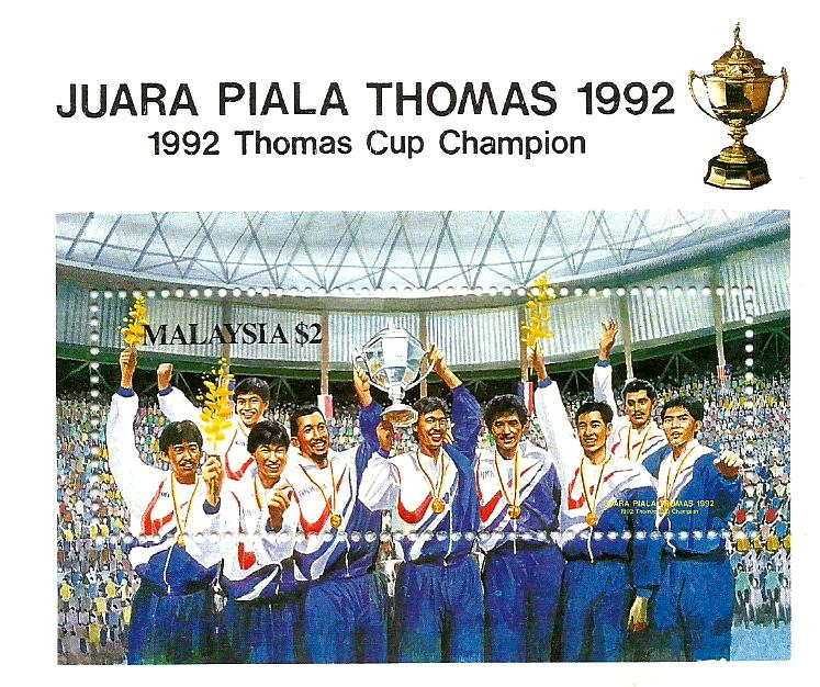 MS 1992 THOMAS CUP WINNER