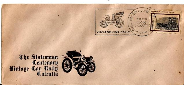SPECIAL COVER STATESMAN CAR RALLY