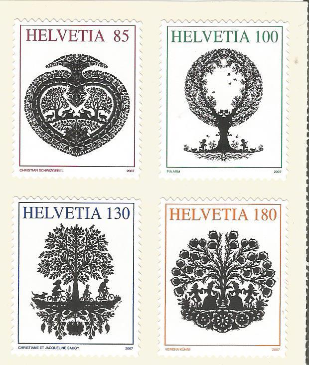 SWITZERLAND PAPER SILHOUETTES