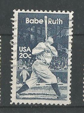 USA BABE RUTH BASEBALL
