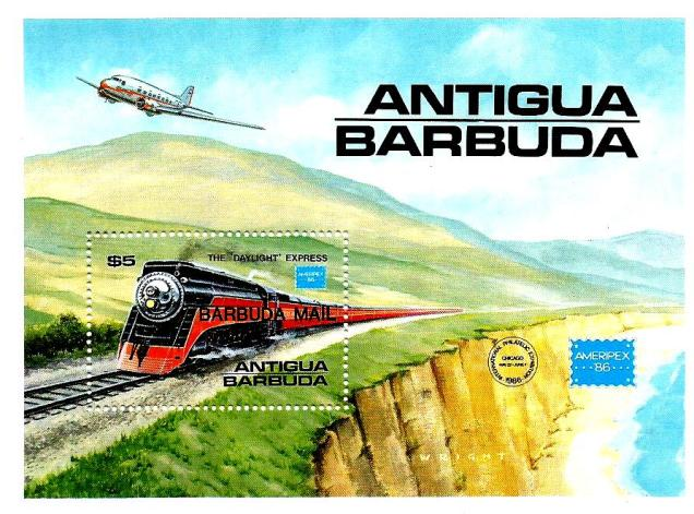 ANTIGUA BARBUDA MS RAILWAYS