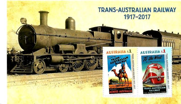 AUSTRALIA TRANS AUSTRALIA RAILWAYS MS