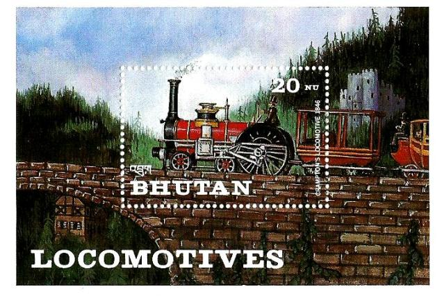 BHUTAN LOCOMOTIVES MS