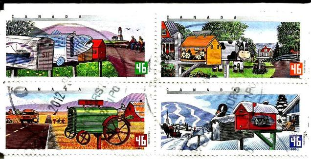 CANADA RURAL MAIL BOXES