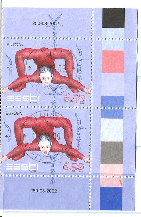 ESTONIA EUROPA 2002 CIRCUS