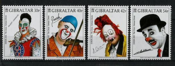GIBRALTAR EUROPA 2002 CIRCUS