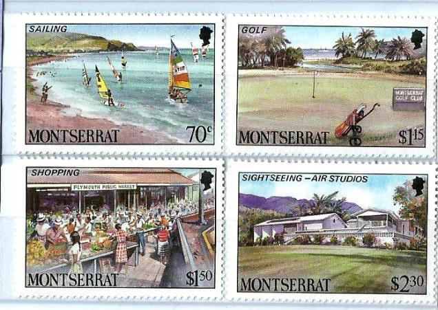 MONTSERRAT TOURISM GOLF SAILING 1986