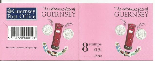 GUERNSEY WELCOMING FACE BOOKLET CVR