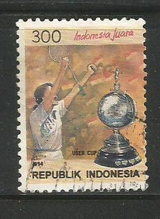 INDONESIA UBER CUP VICTORY