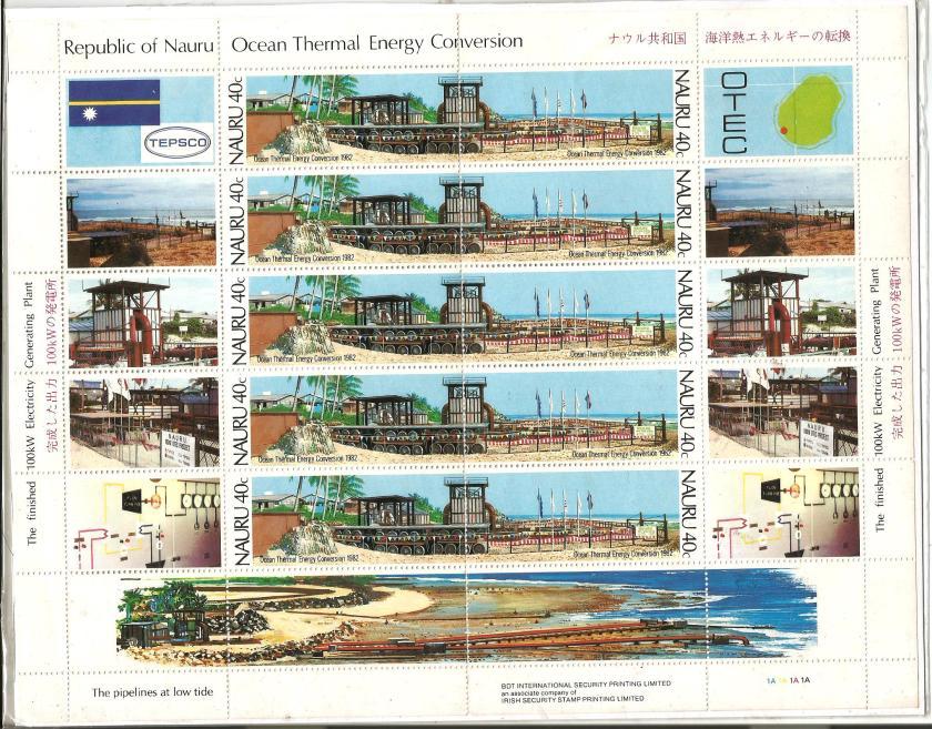 MS NAURU OCEAN THERMAL ENERGY CONVERSION