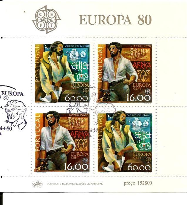 PORTUGAL EUROPA 1980 FAMOUS PEOPLE VASCO