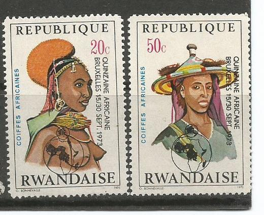RWANDA COSTUMES 1973