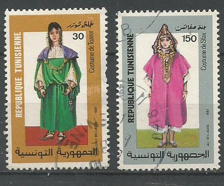 TUNISIA 1987 COSTUMES