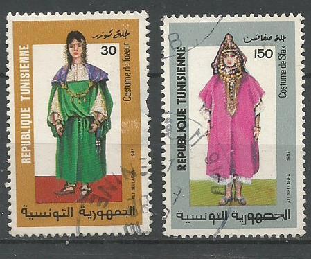 TUNISIA 1987 COSTUMES