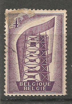 BELGIUM EUROPA 1956