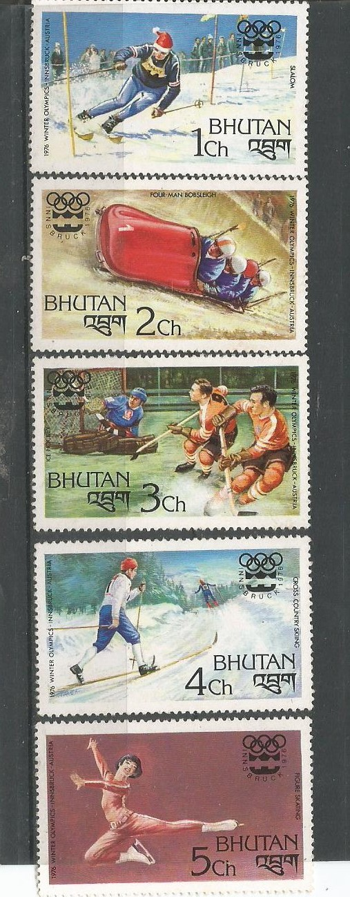 BHUTAN INNSBRUCK WINTER OLYMPICS