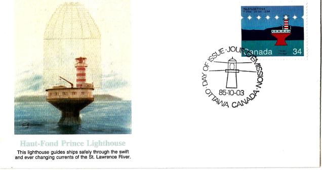 FDC CANADA LIGHT HOUSE