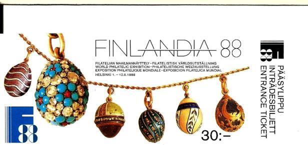 FINLANDIA BOOKLET FRONT