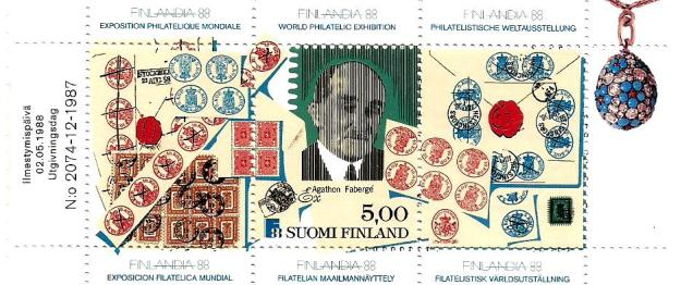 FINLANDIA BOOKLET STAMPS