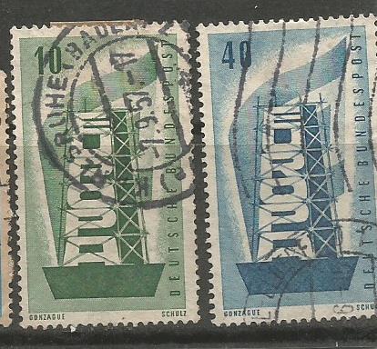 GERMANY EUROPA 1956