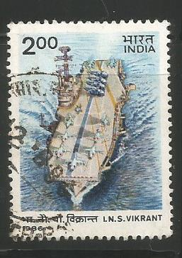 INDIAN NAVY INS VIKRANT