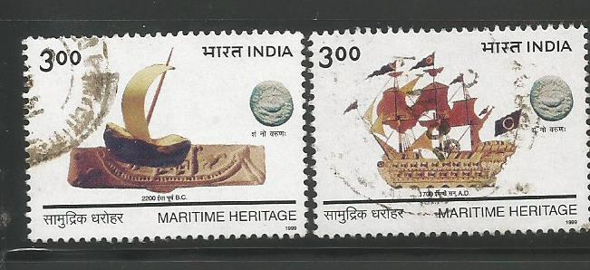 INDIAN NAVY MARITIME HERITAGE 1999