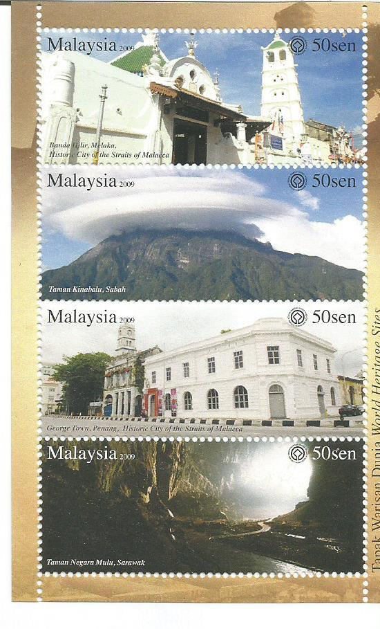 MALAYSIA WORLD HERITAGE SITES