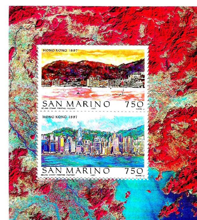 SAN MARINO 1997 WORLD CITIES HK