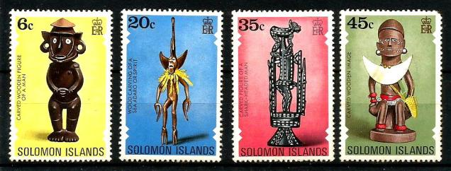 SOLOMON ISLAND CARVINGS