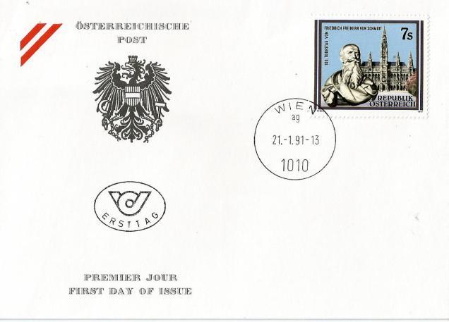 austria fdc personality