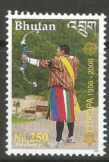 bhutan europa Archery