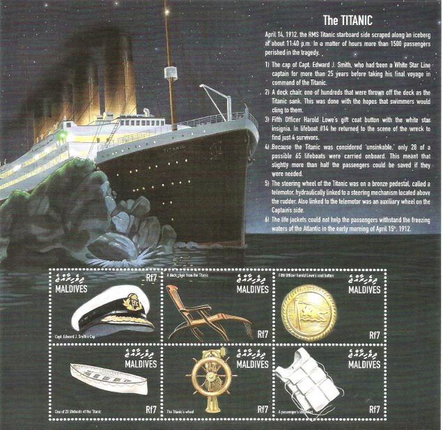 maldives ms titanic