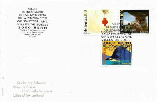 switzerland fdc cities