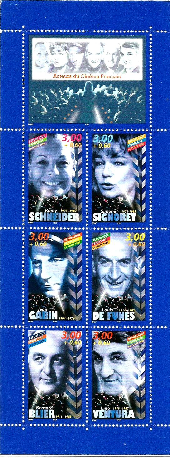 FRANCE BOOKLET ACTORS