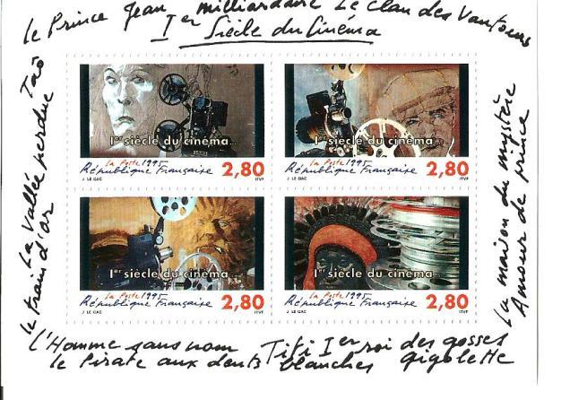 FRANCE MS CENTURY OF CINEMA