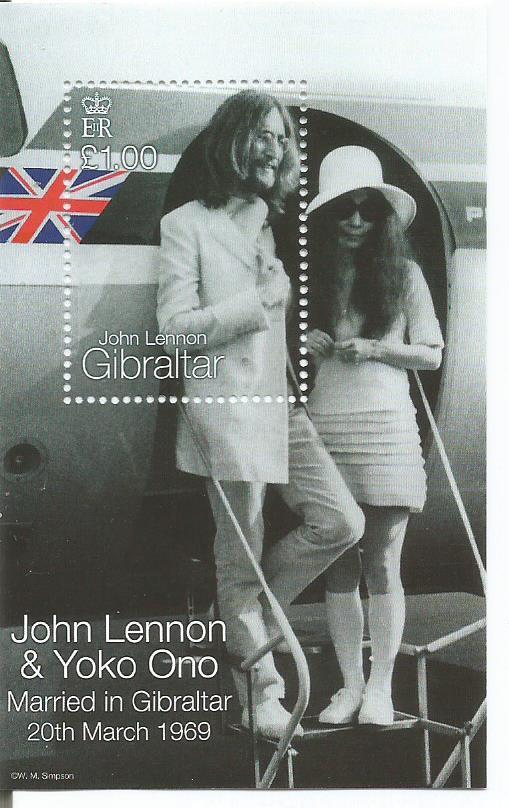 GIBRALTAR JOHN LENNON MS1