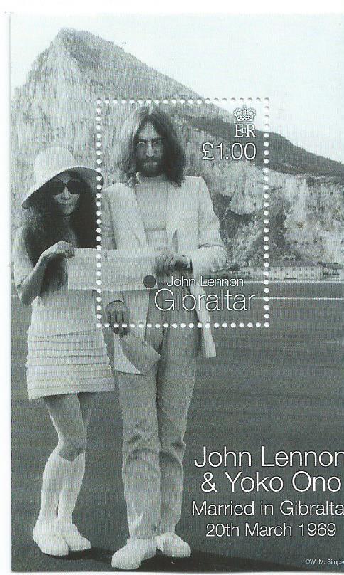 GIBRALTAR JOHN LENNON MS2