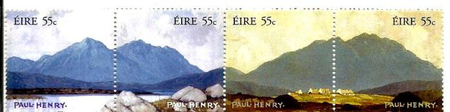 IRELAND PAINTINGS PAUL HENRY