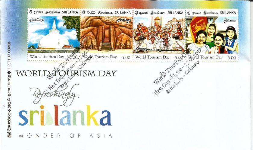 SRI LANKA TOURISM FDC 1